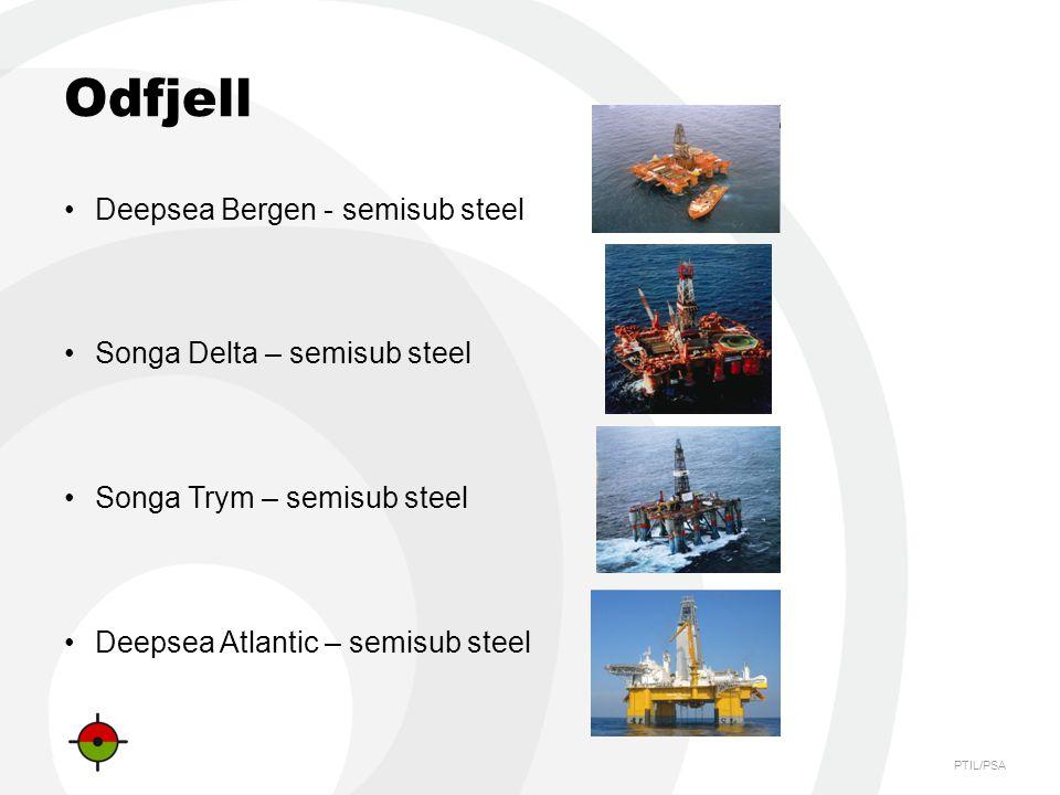 Odfjell Deepsea Bergen - semisub steel Songa Delta – semisub steel