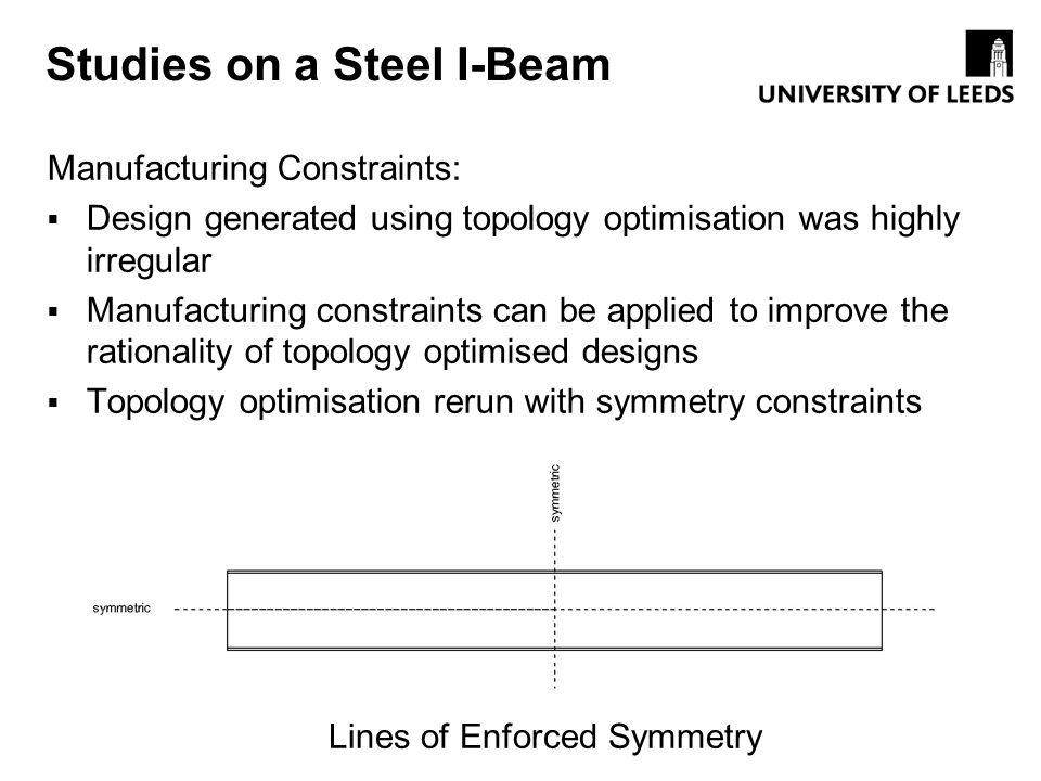 Studies on a Steel I-Beam