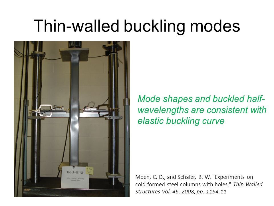 Thin-walled buckling modes