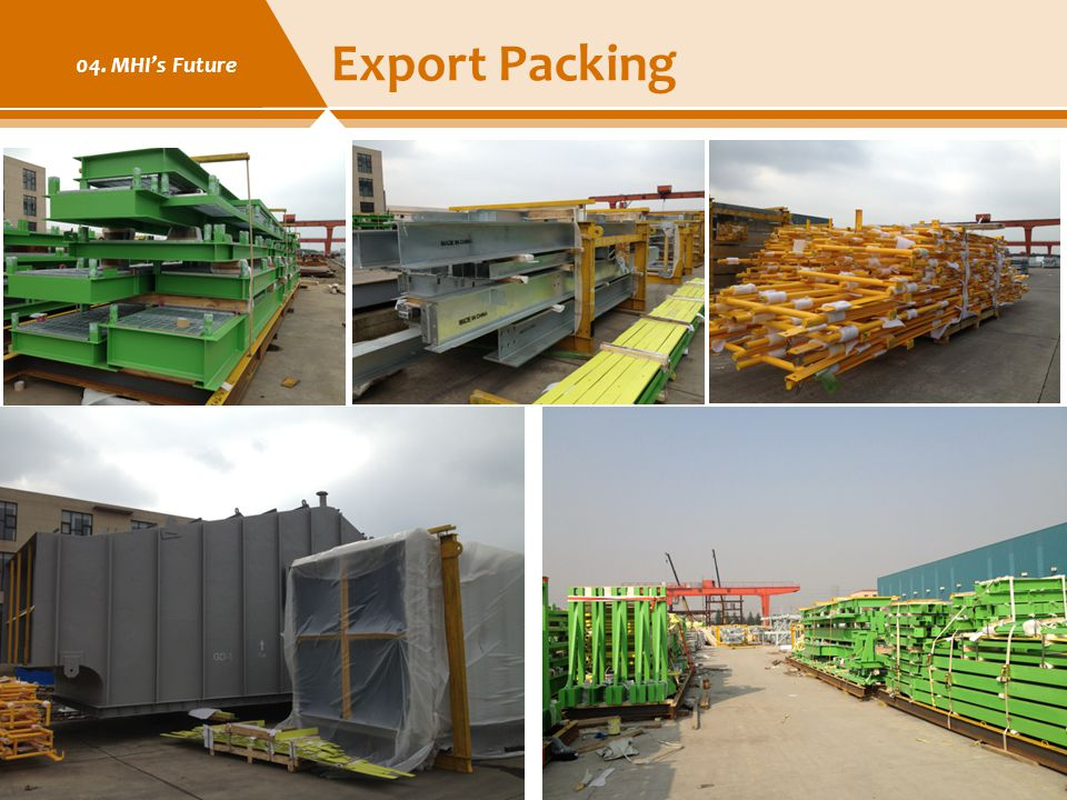 Export Packing 04. MHI's Future Modern Heavy Industries Ltd. 23