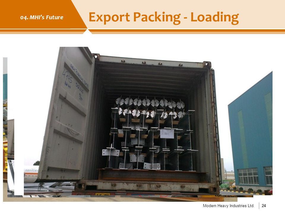 Export Packing - Loading