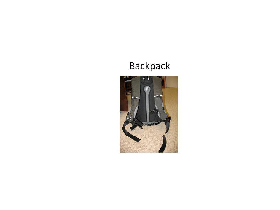 Backpack Want to recognize all objects in the world