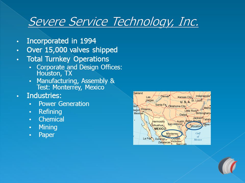 Severe Service Technology, Inc.