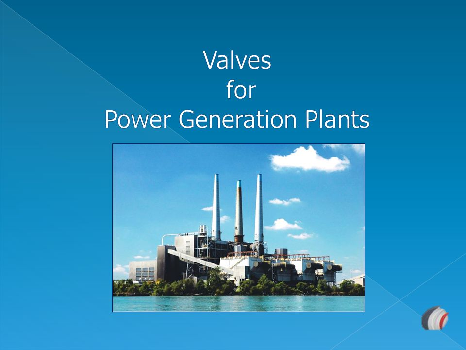 Valves for Power Generation Plants