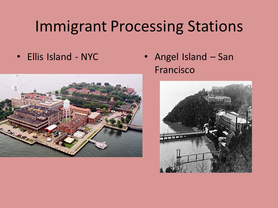 Immigrant Processing Stations