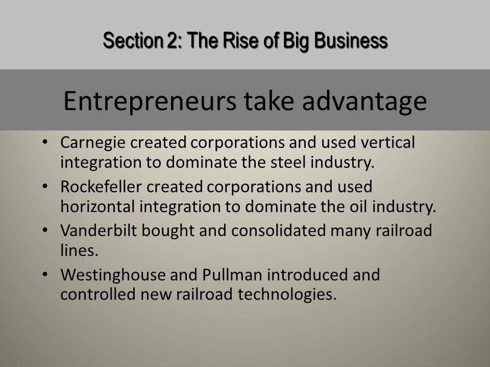Entrepreneurs take advantage