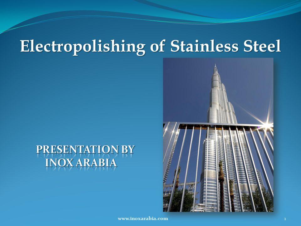 Electropolishing of Stainless Steel