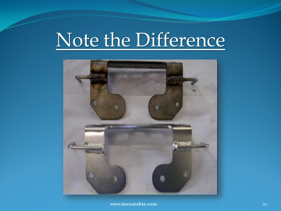 Note the Difference www.inoxarabia.com