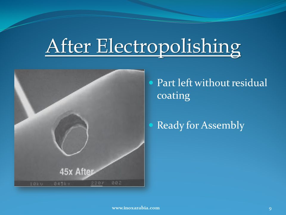 After Electropolishing