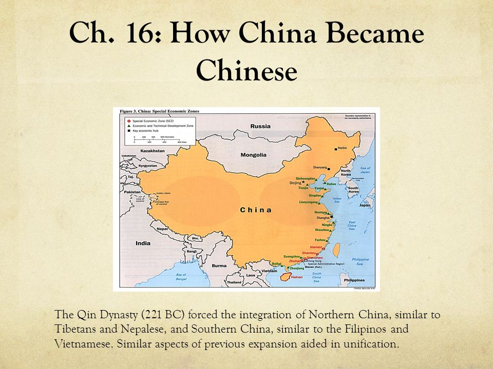 Ch. 16: How China Became Chinese