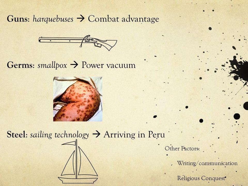 Guns: harquebuses  Combat advantage