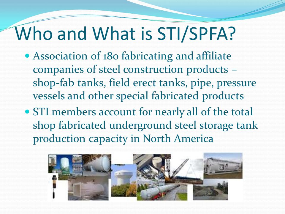 Who and What is STI/SPFA