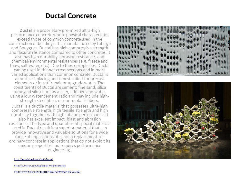 Ductal Concrete