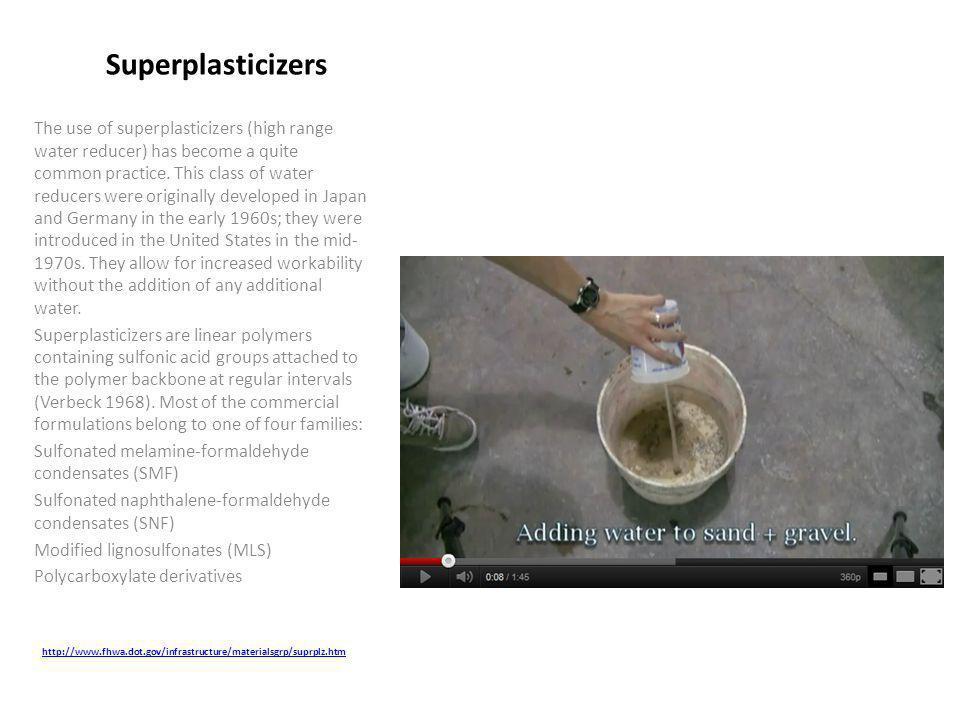 Superplasticizers