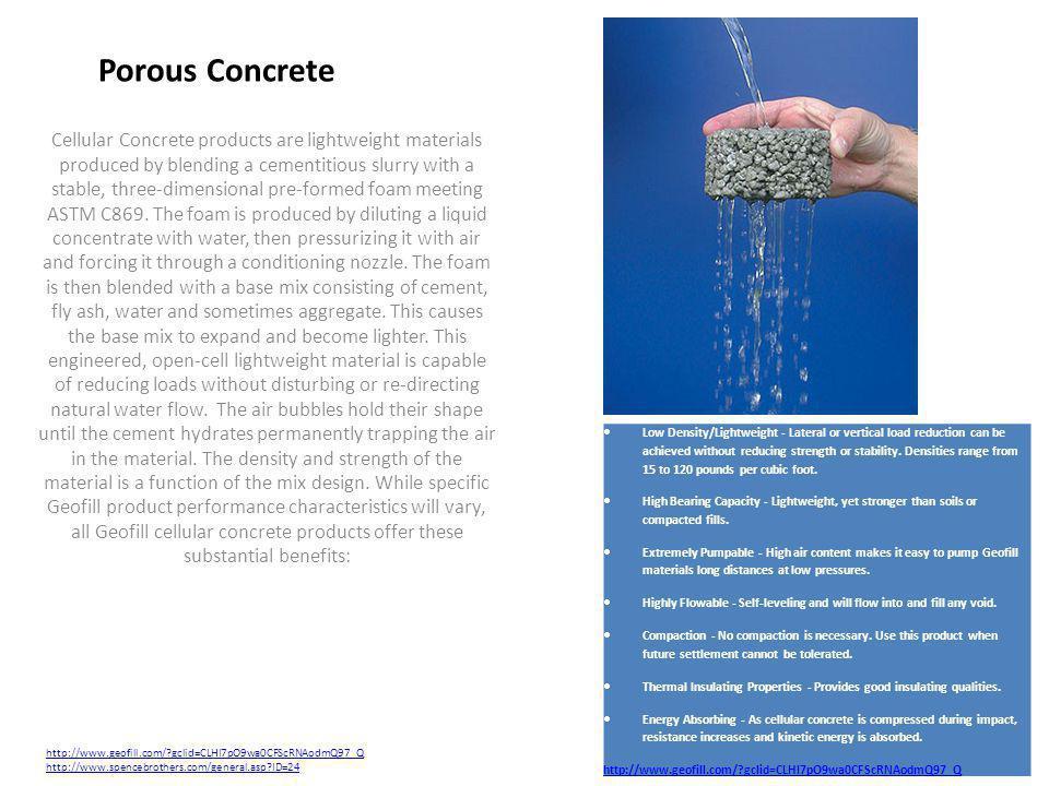 Porous Concrete