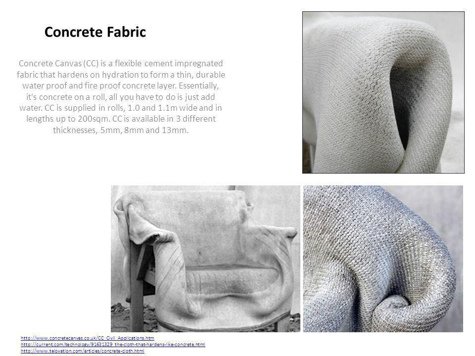 Concrete Fabric