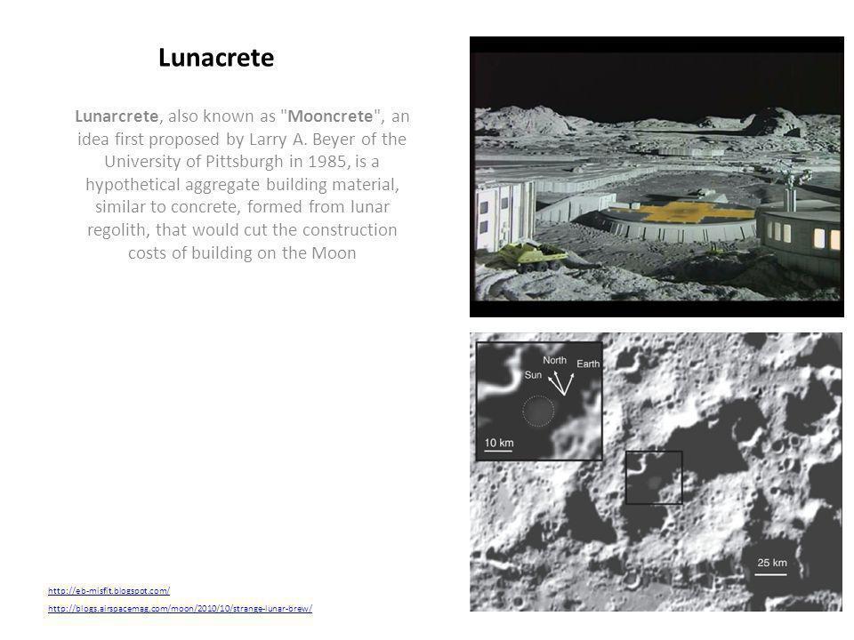 Lunacrete