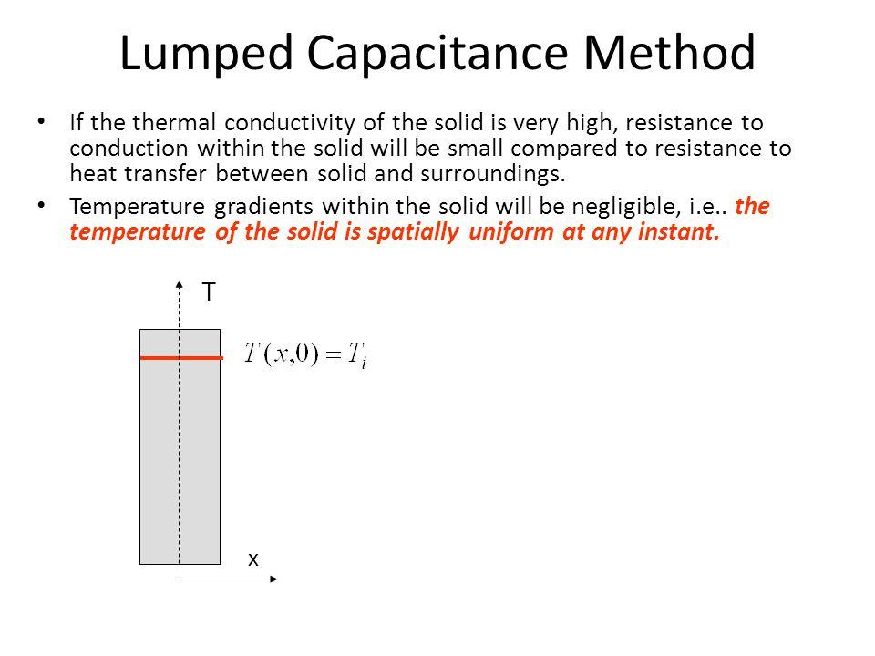 Lumped Capacitance Method