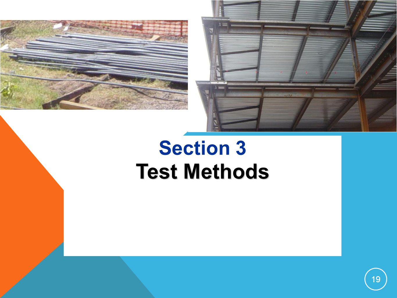 Section 3 Test Methods 19