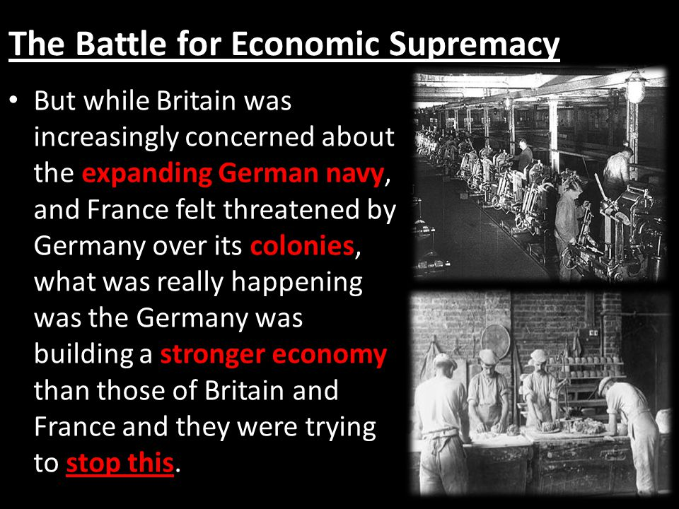 The Battle for Economic Supremacy