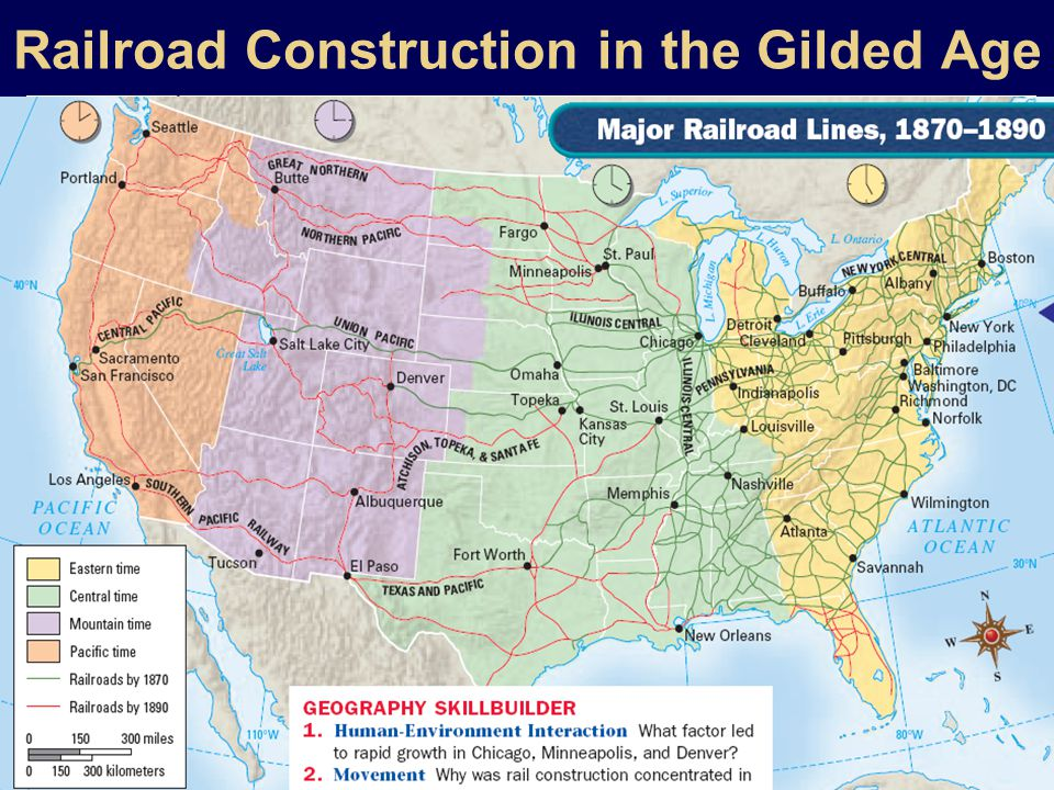 Railroad Construction in the Gilded Age