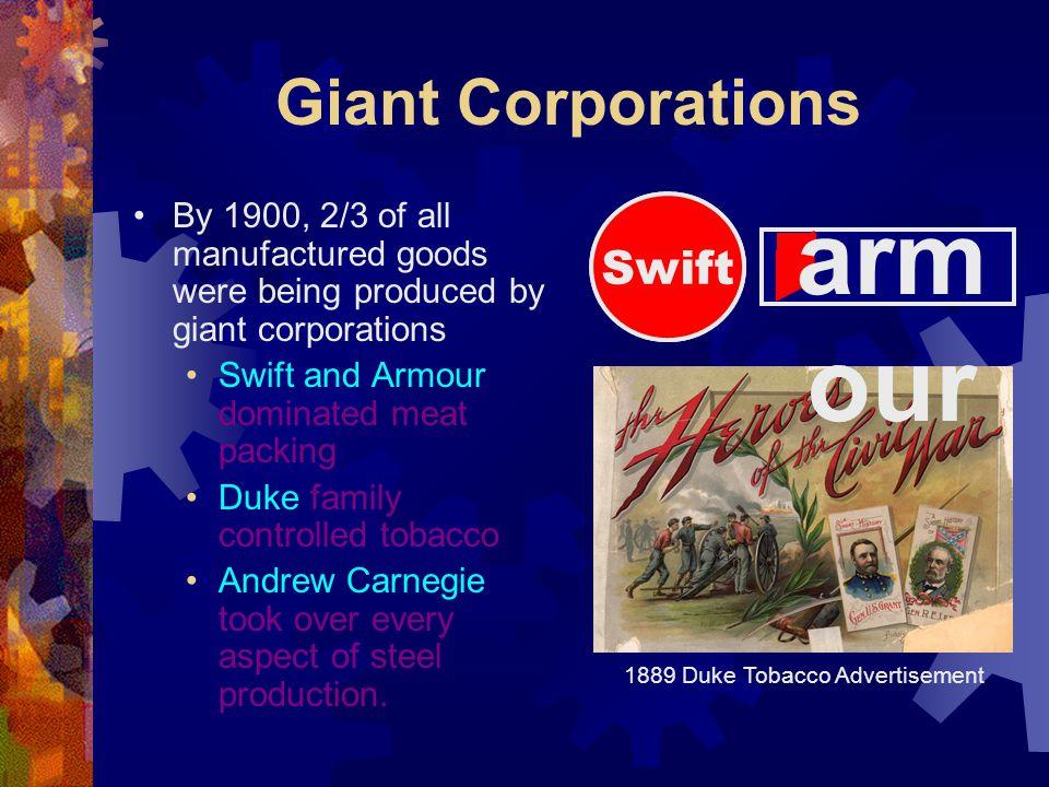 1889 Duke Tobacco Advertisement