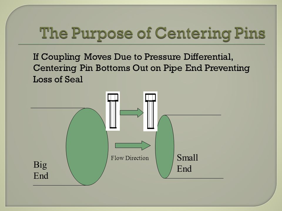 The Purpose of Centering Pins