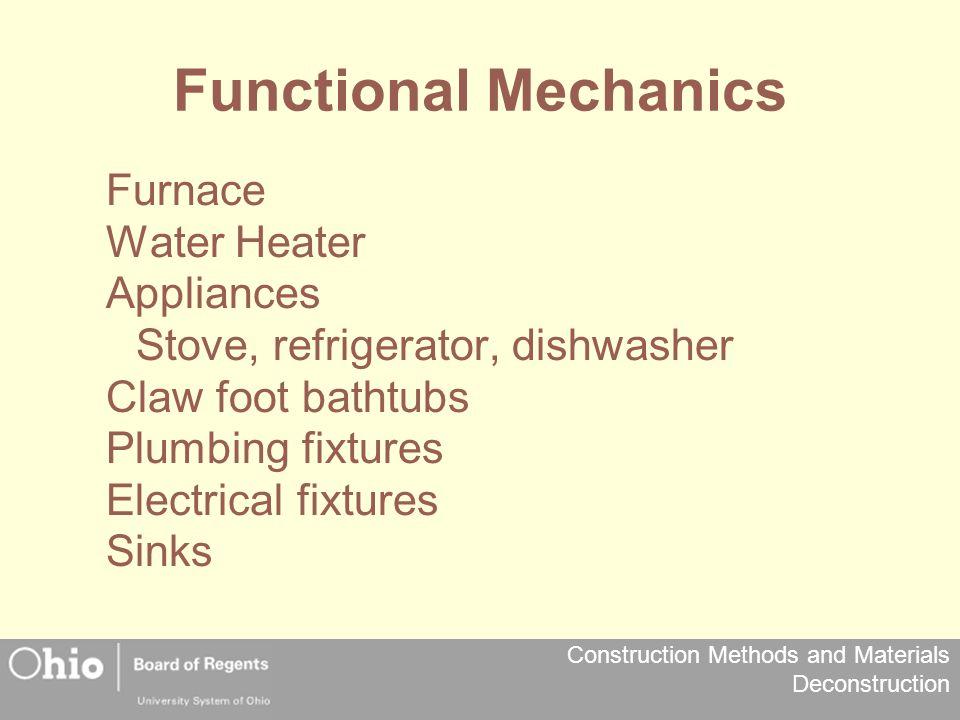 Functional Mechanics Furnace Water Heater Appliances