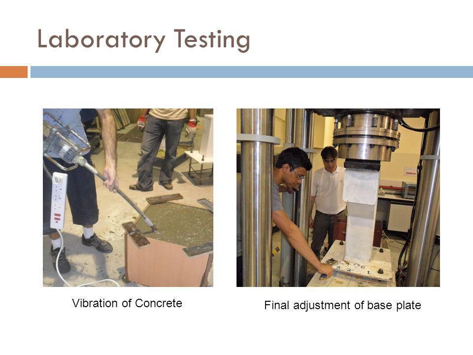 Laboratory Testing Vibration of Concrete