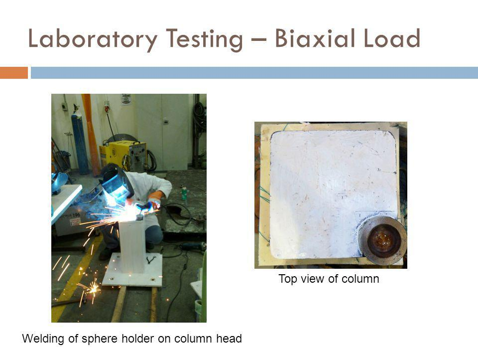 Laboratory Testing – Biaxial Load