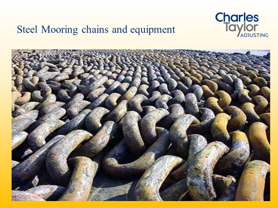Steel Mooring chains and equipment