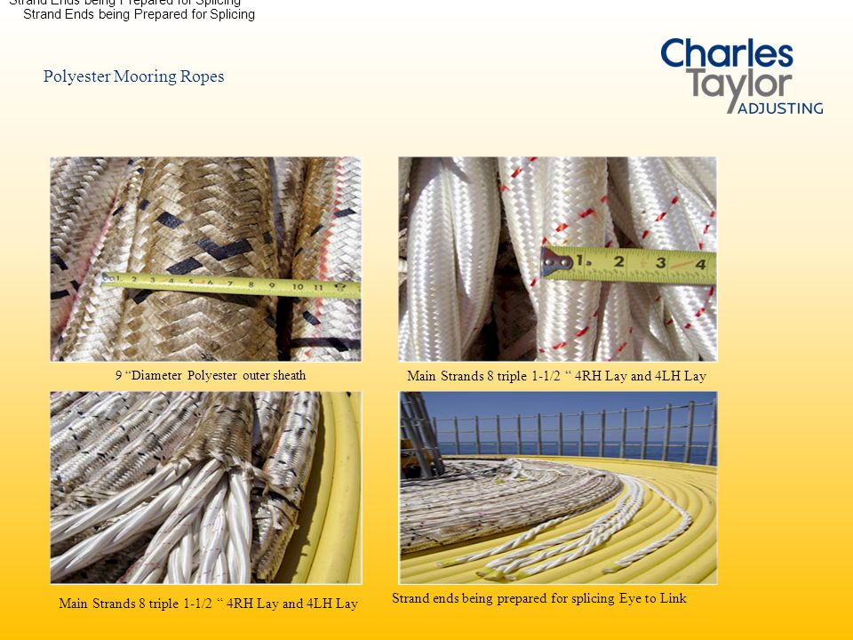 Polyester Mooring Ropes