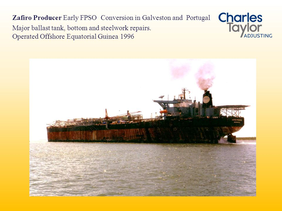 Zafiro Producer Early FPSO Conversion in Galveston and Portugal