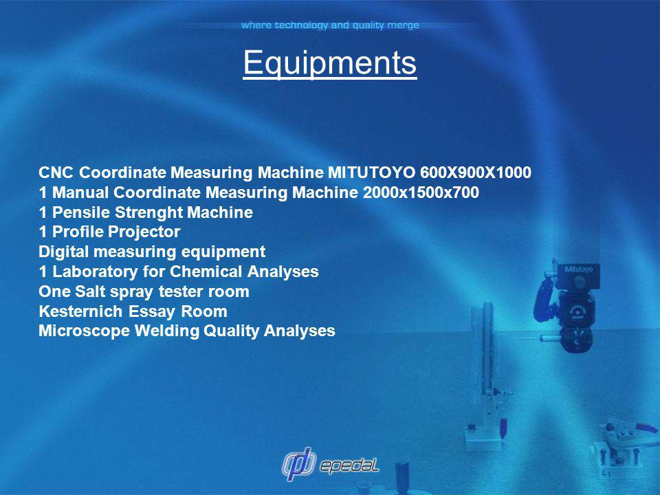 Equipments CNC Coordinate Measuring Machine MITUTOYO 600X900X1000