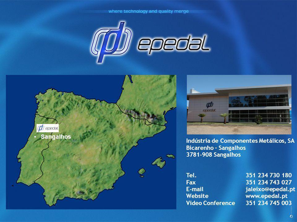 Indústria de Componentes Metálicos, SA Bicarenho – Sangalhos