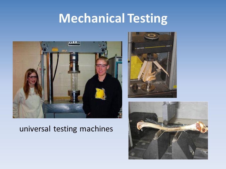 Mechanical Testing universal testing machines