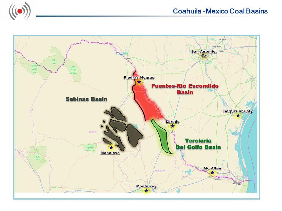 Coahuila -Mexico Coal Basins