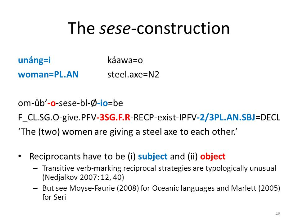 The sese-construction