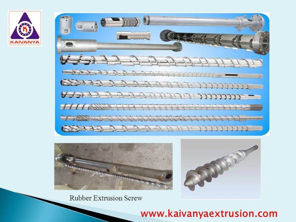 Rubber Extrusion Screw
