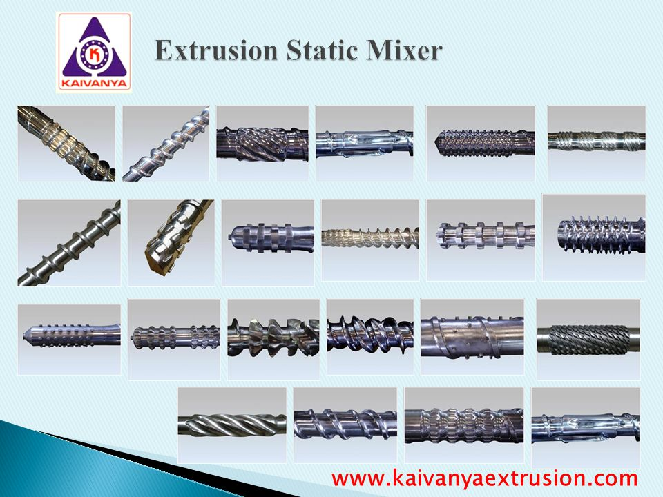 Extrusion Static Mixer
