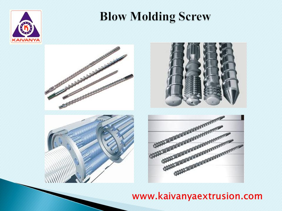 Blow Molding Screw www.kaivanyaextrusion.com