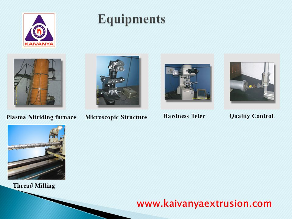 Equipments www.kaivanyaextrusion.com Plasma Nitriding furnace
