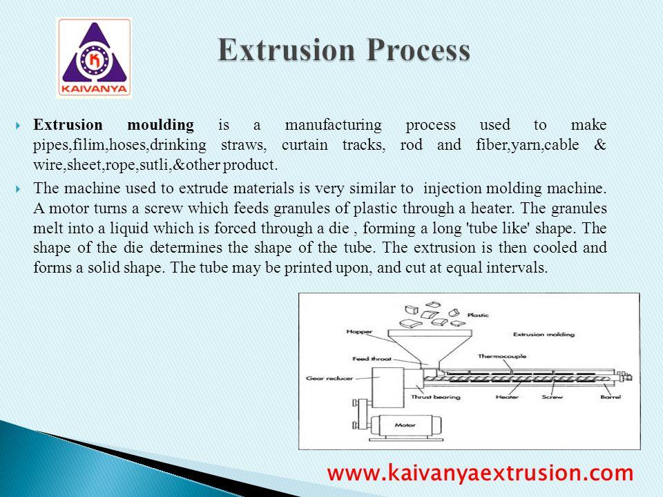 Extrusion Process www.kaivanyaextrusion.com