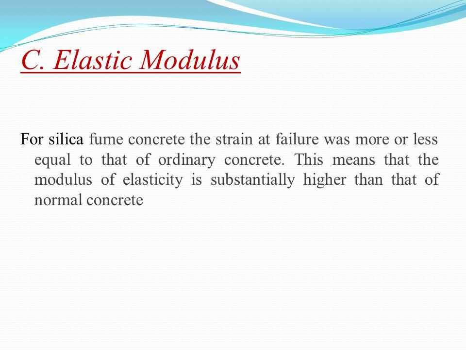 C. Elastic Modulus