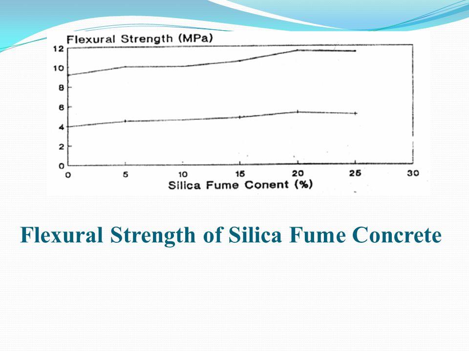 Flexural Strength of Silica Fume Concrete