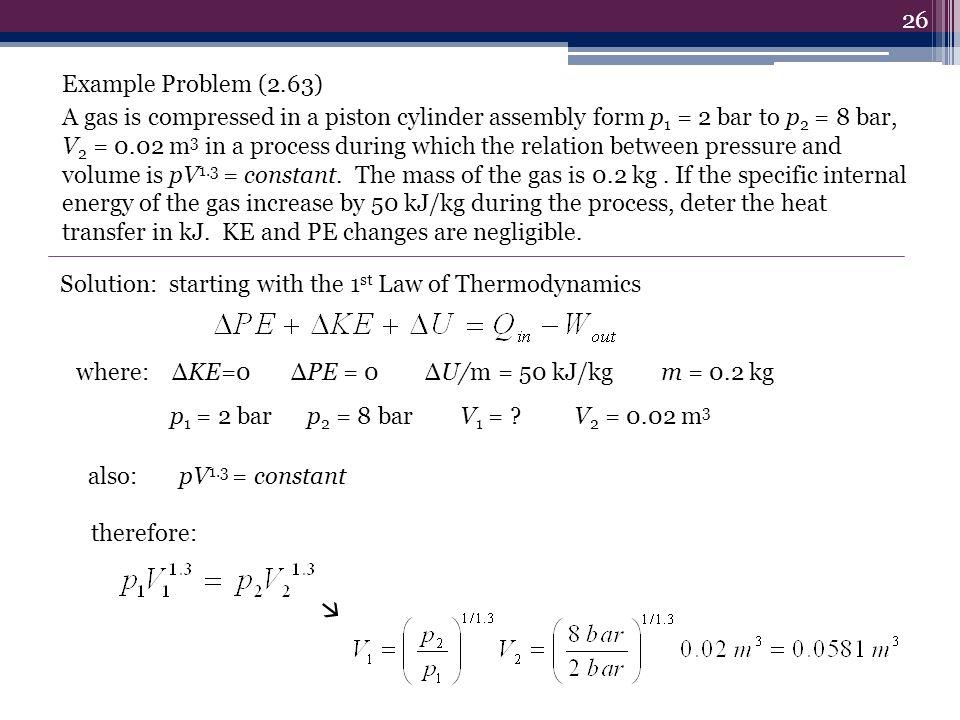 Example Problem (2.63)