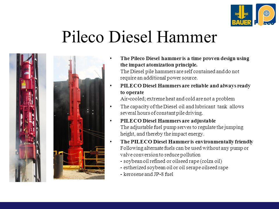 Pileco Diesel Hammer