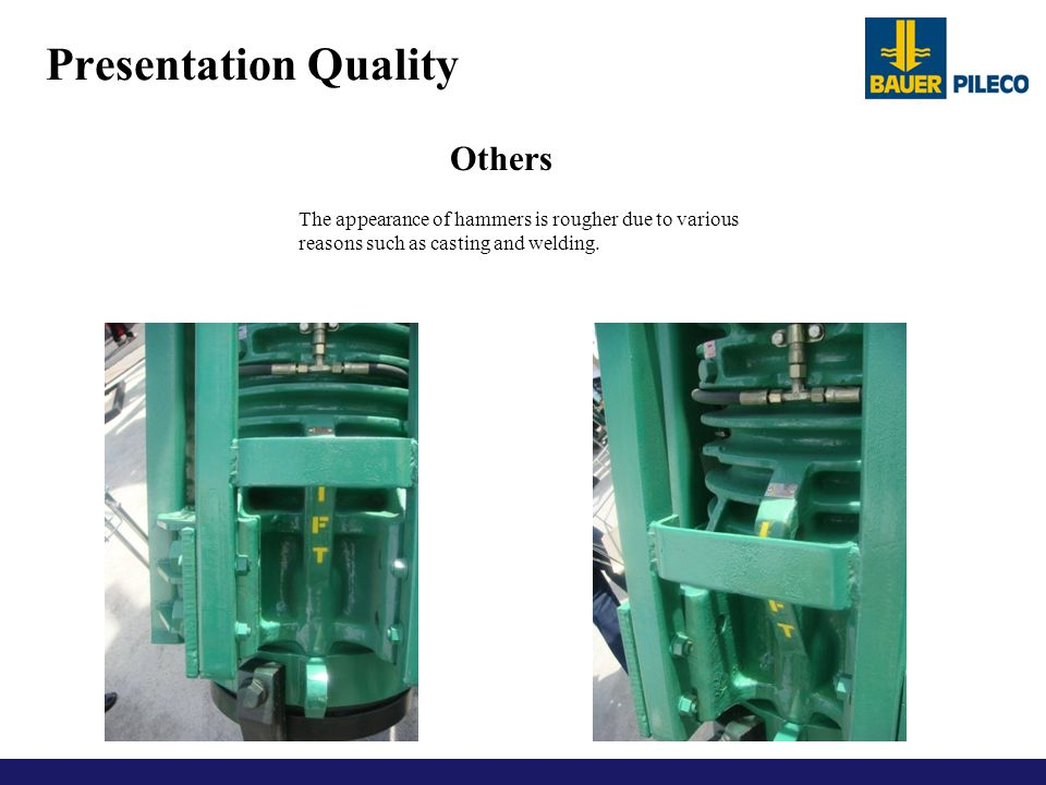 Presentation Quality Others