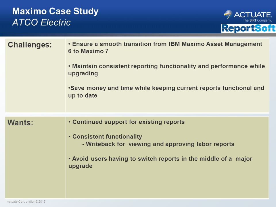 Maximo Case Study ATCO Electric