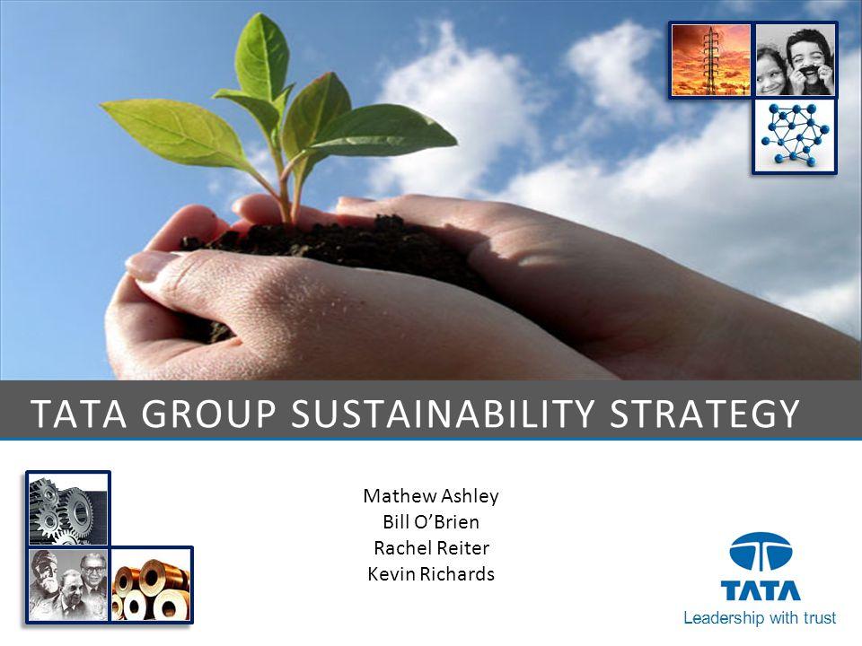 Tata Group Sustainability Strategy